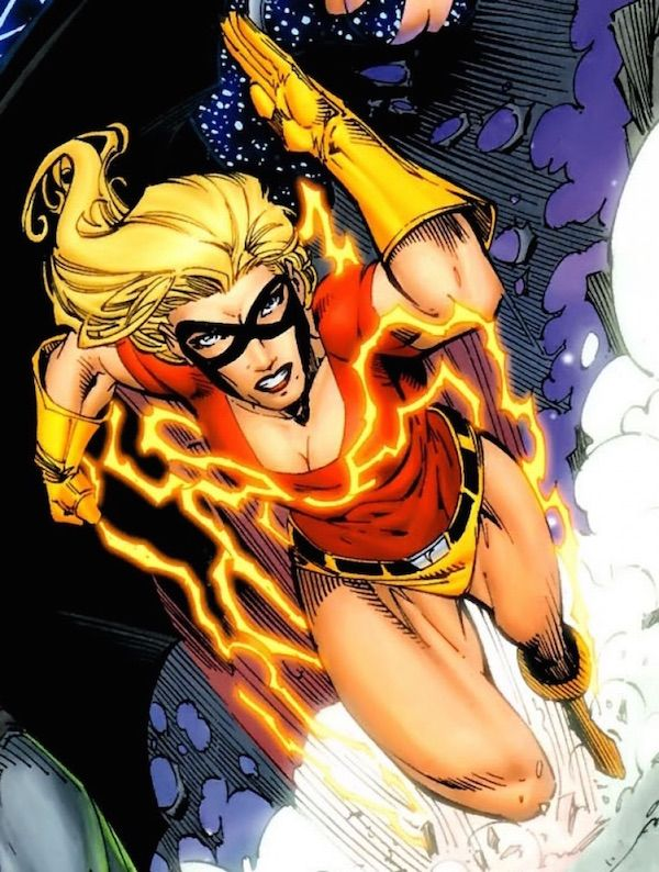 Jesse Chambers was born in Queens, New York to the golden age superheroes Johnny Quick and Liberty Belle.  Her father taught Jesse the formula that let him draw energy from the Speed Force, 3x2(9yz)4a, hoping that she would become a super-hero. However, she devoted her life instead to studying superheroes of the past.  While Jesse was studying at Gotham University, the first superhero team, of which her parents had been colleagues, the Justice Society of America, re-emerged, following a long…