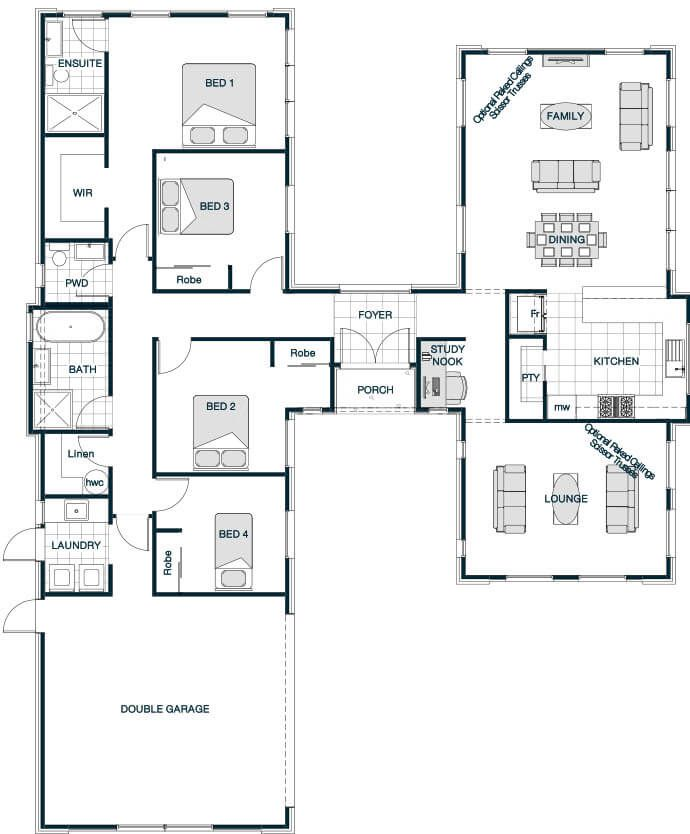 Stonewood Homes Floor Plans Part - 26: Your Series Stonewood Statics Pavillion 220