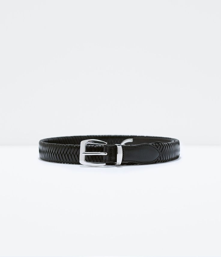 Image 1 of INTERLINK BELT from Zara