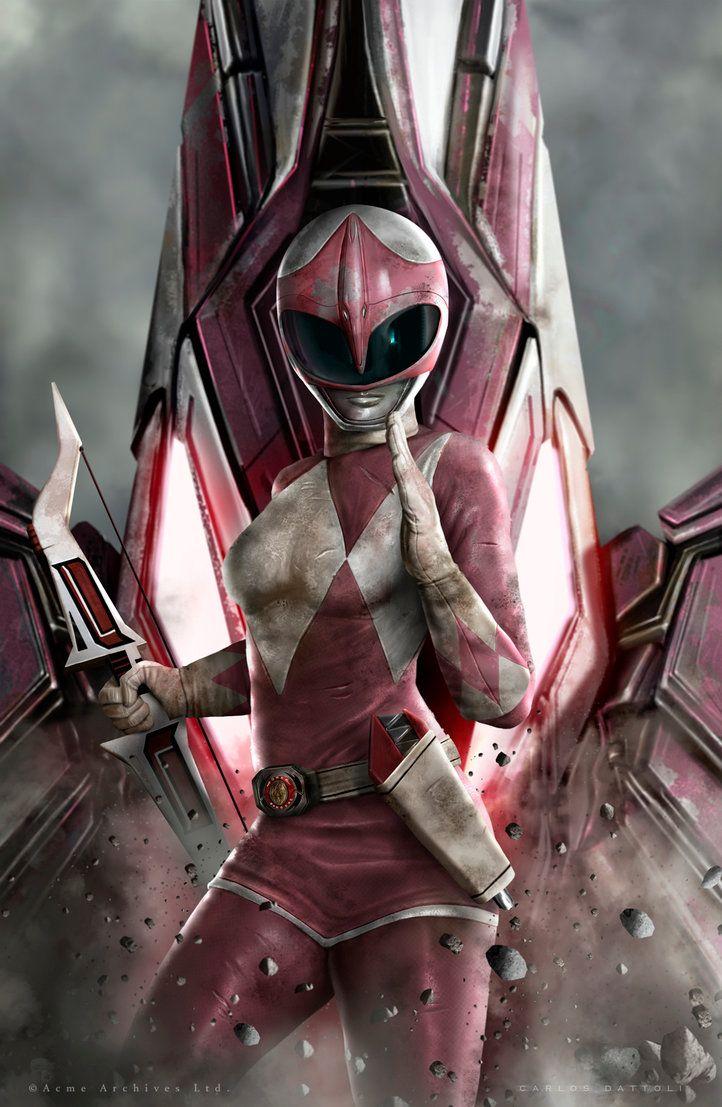 Pink Ranger by CarlosDattoliArt.deviantart.com on @DeviantArt