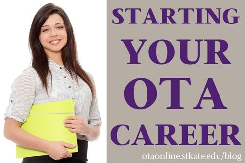 Get some tips from our guest blogger and working OT on how to find your first job as an OTA.