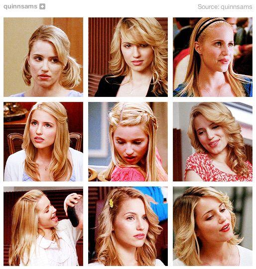 Quinn Fabray's best hairstyles (via http://quinnsams.tumblr.com/post/61879997269/quinn-fabrays-best-hairstyles)