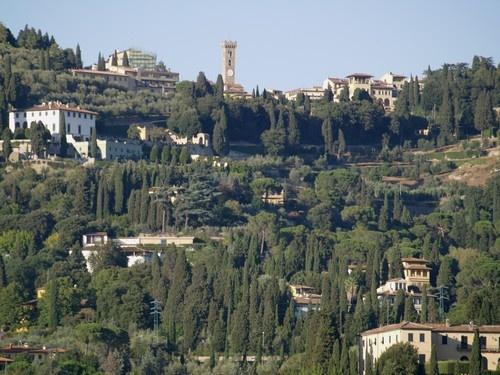 Fiesole vista da Firenze