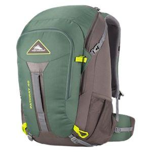 High Sierra Pathway 40L Internal Frame Backpack - Pine/Slate/Chartreuse
