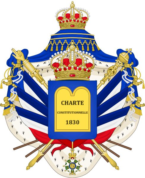 The Coat of Arms of the July Monarchy (1831-48) - Arms of Louis Philippe I