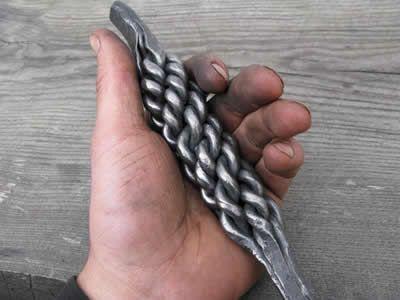 twisted rope twist