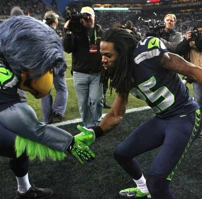awesome, just love this guy.  GO SEAHAWKS!!!
