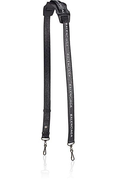 Balenciaga Arena Logo Leather Classic Bag Strap - Bag Straps - 505449920