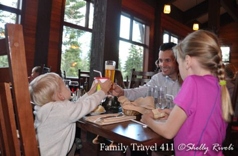 Best dining in the park? The Peaks at Wuksachi Lodge has sophisticated fare, but also a family-friendly atmosphere - details in http://www.familytravel411.com/sequoia-national-park-with-kids/#.U8G1wHJdVyI
