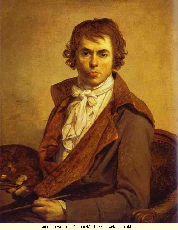 Jacques-Louis David. Self-Portrait. Olgas Gallery.