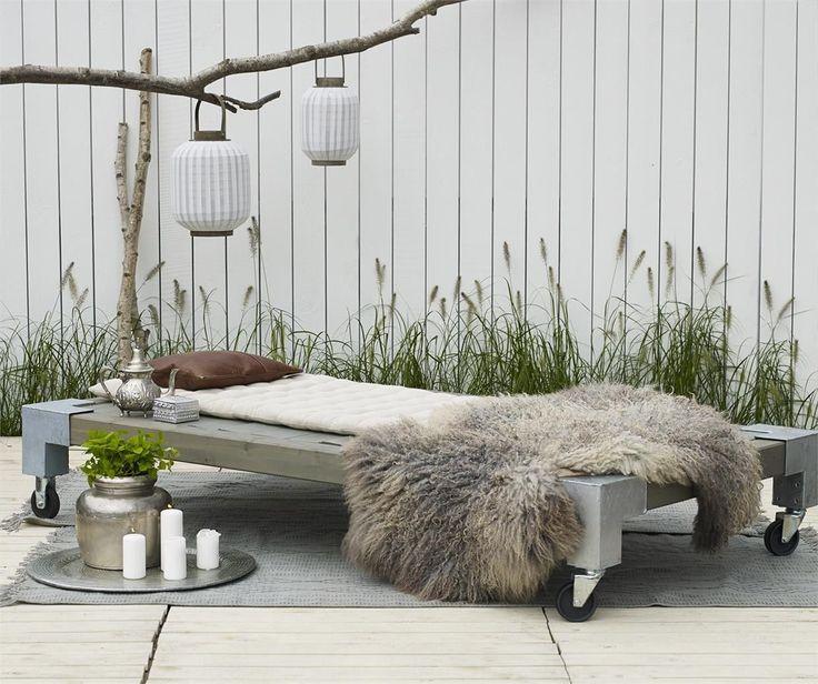 CUBIC Daybed Gartenbett Bett Liege Sonnenbett Sonnenliege in Garten & Terrasse, Möbel, Liegen   eBay