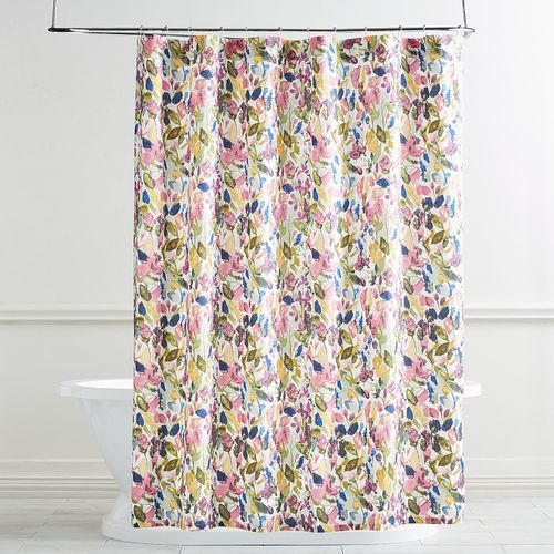 Fall Floral Green Shower Curtain Green Shower Curtains Floral