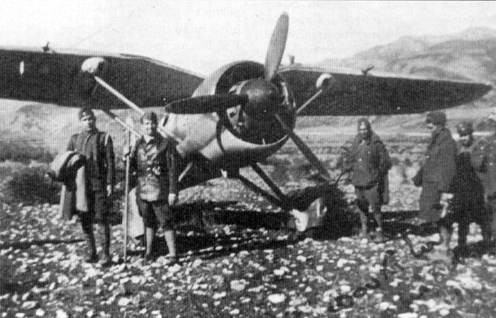 The Greek Air Force's main fighter in WW2-the PZL P.24.
