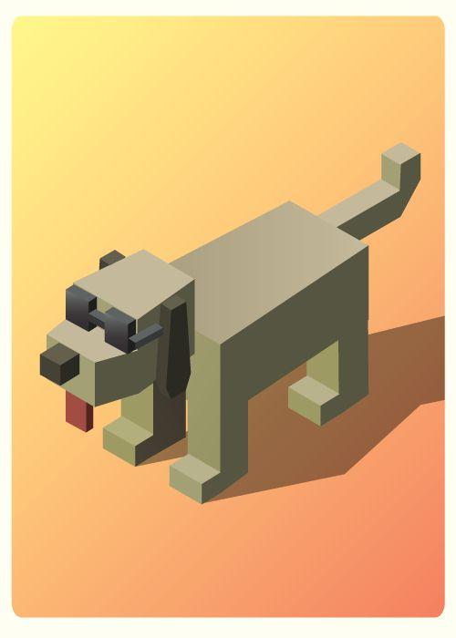 Isometric pets