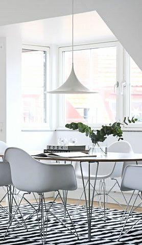 Via NordicDays.nl | Eames | White | Design Classics in Malmö