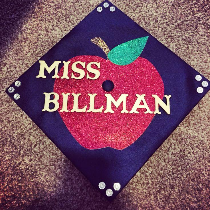 Graduation cap for teacher