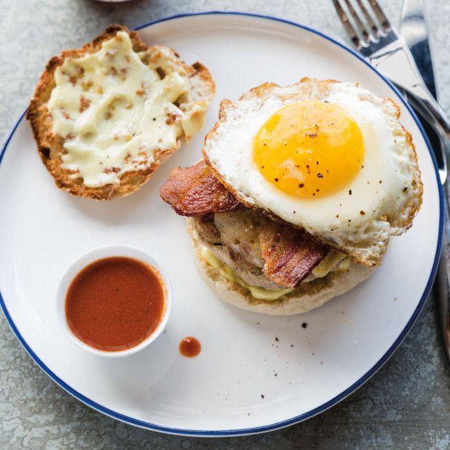 Breakfast Burgers
