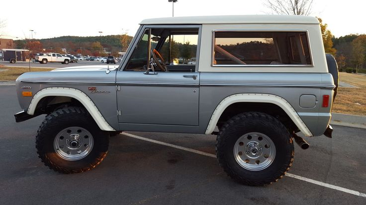 20 best images about grey broncos on pinterest plugs for Bronco motors used cars