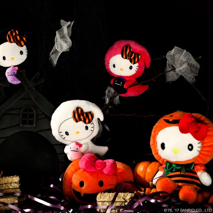 Hello Kitty Halloween plush are here! Witch one will you choose?
