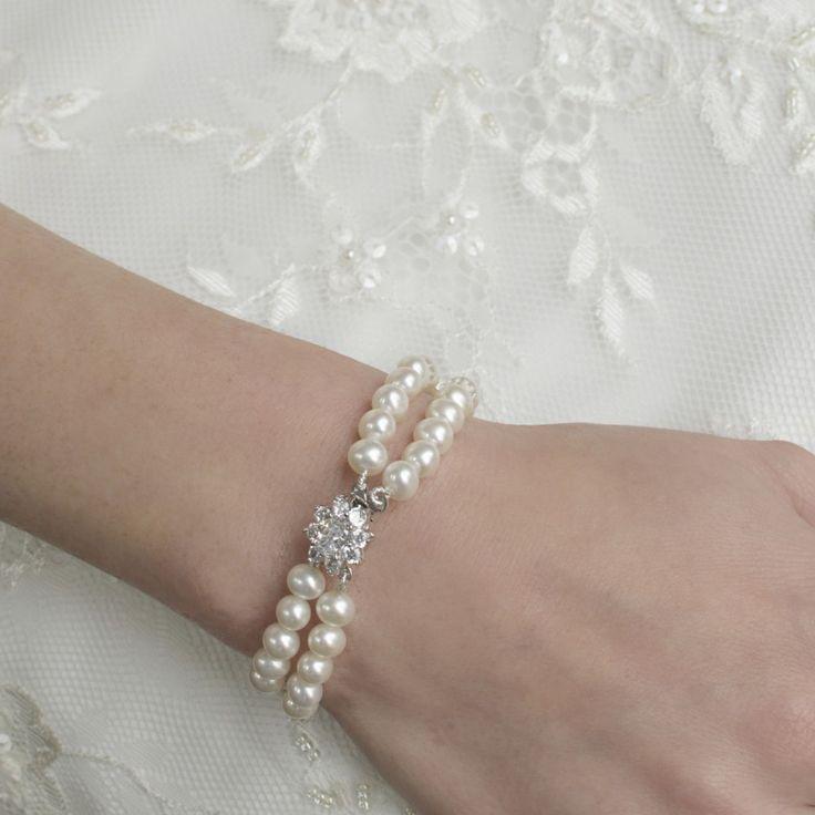 Audrey vintage pearl bracelet by Divine Destiny