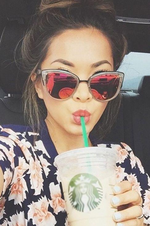 Quay Eyeware My Girl Sunglasses in Coffee