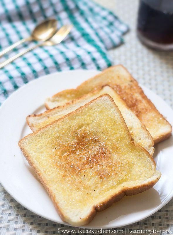 sugar bread toast