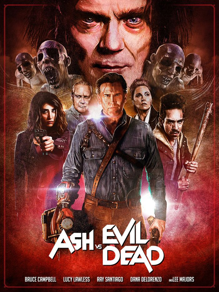 Ash Vs Evil Dead By Simon Carpenter Evil Dead Movies Horror Movie Art Alternative Movie Posters