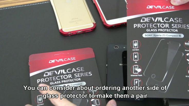 DEVILCASE SONY Xperia Z3 Compact Aluminum Bumper Case - English Subtitle