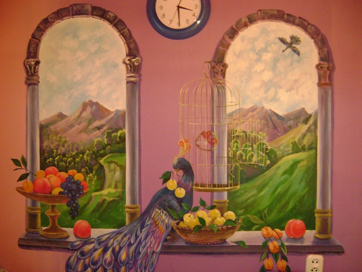 Custom Hand Painted Wall Murals By Eelna