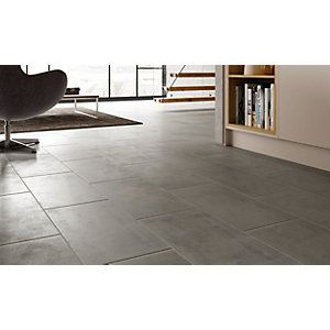Wickes Manhattan Grey 300 X 600mm Porcelain Floor Amp Wall Tile Pack Of 6 Kitchen Ideas