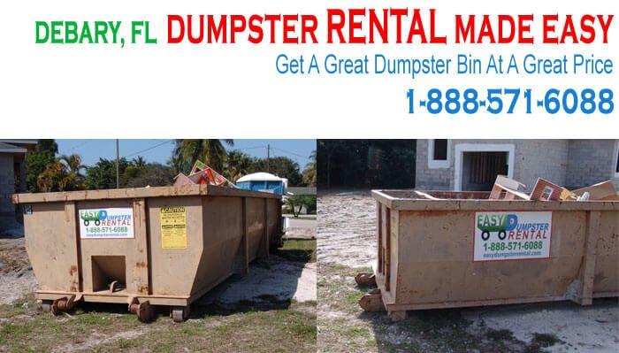 Dumpster Rental Debary Fl Simply Save 15 10 20 30 Yarders Dumpster Rental Dumpster Oak Island