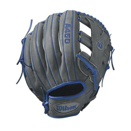 Wilson Sporting Goods A450 Advisory Staff Puig All-Position Baseball Glove, Gray