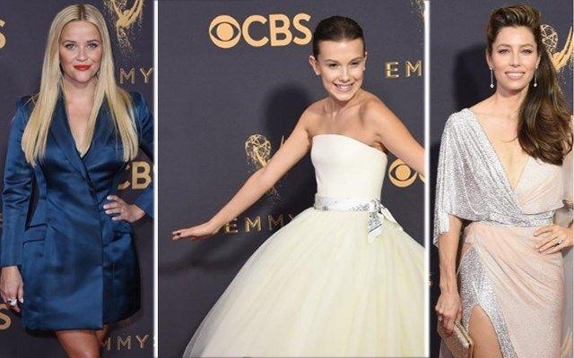 Op zondag 17 september werden de Emmy Awards uitgereikt in het Microsoft Theatre in Los Angeles. Veel wereldberoemde actrices verschenen op de rode loper i...