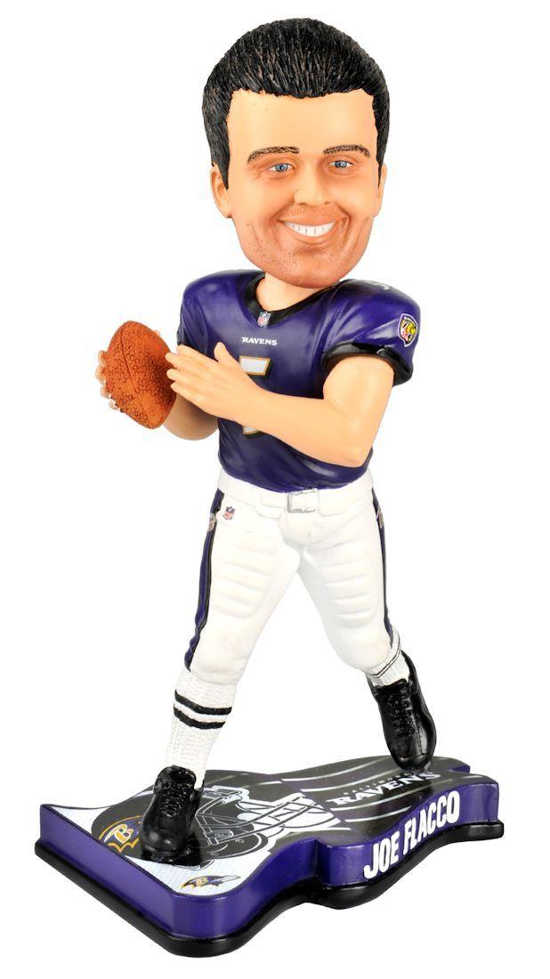 Baltimore Ravens Joe Flacco Pennant Base Bobble Head