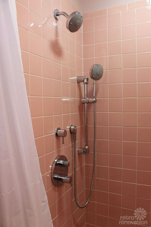 Best Retro And Mid Century Bathrooms Images On Pinterest Mid - 60s bathroom remodel
