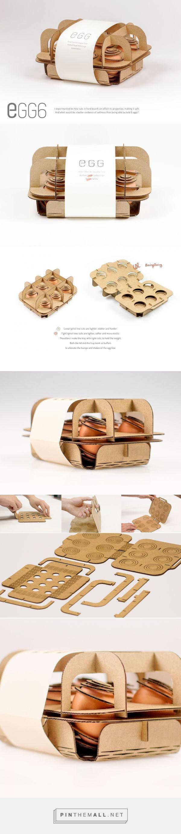 Mattress for Eggs - by Sichen Sun / Rhode Island School of Design / school project
