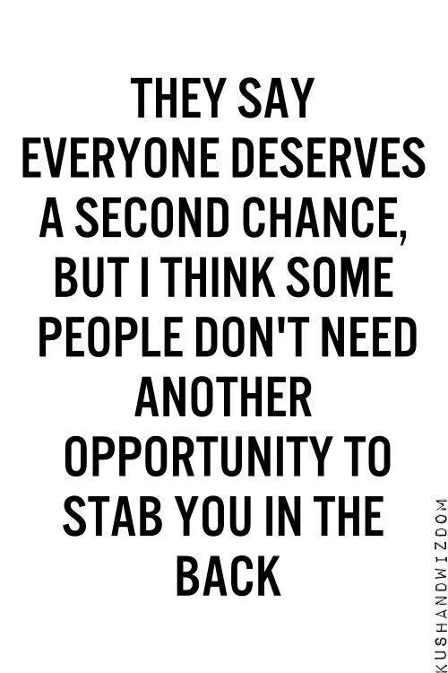 Quotes About Being Stabbed In The Back Quotesgram