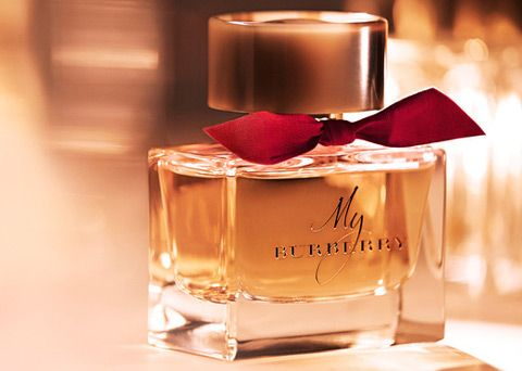 New! Burberry-My-Burberry-Limited-Edition #  Top notes: sweet pea, bergamot, mandarin; Heart: geranium, freesia, quince; Base: patchouli, Centifolia rose, Damascus rose