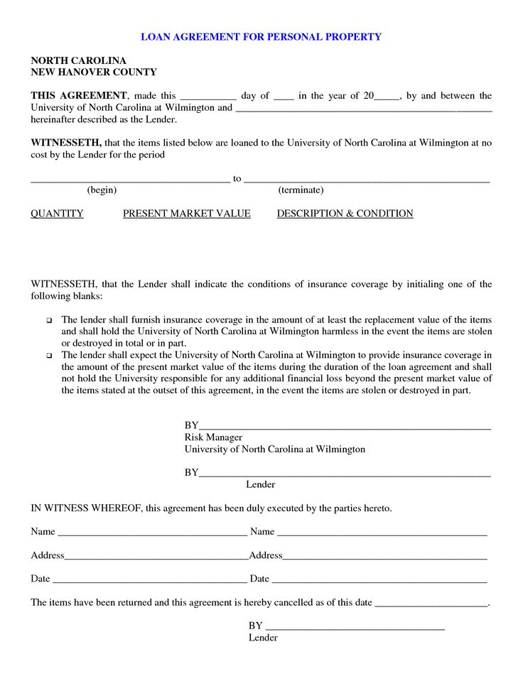 Sample Real Estate Consulting Agreement Template Business – Simple Loan Form