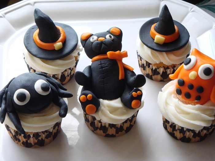 simple halloween cupcake ideas - Scary Halloween Cupcake Ideas