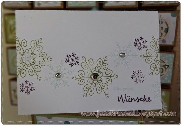 Stampin' Up!, Wünsche zum Fest, Weihnachten, Clean and Simple