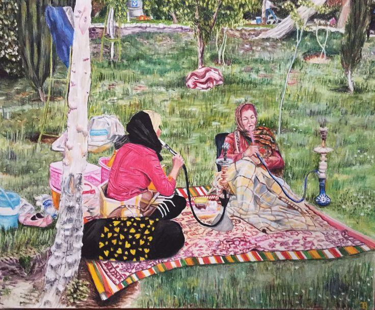 Pique-Nique à Ispahan