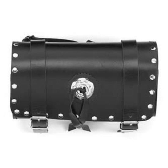 Motorcycle Tool Bag 10 Inch Universal Front Back Fork Storage Concho Studs #DreamApparel http://www.ebay.com/itm/Motorcycle-Tool-Bag-10-Inch-Universal-Front-Back-Fork-Storage-Concho-Studs-/152581732042?ssPageName=STRK:MESE:IT