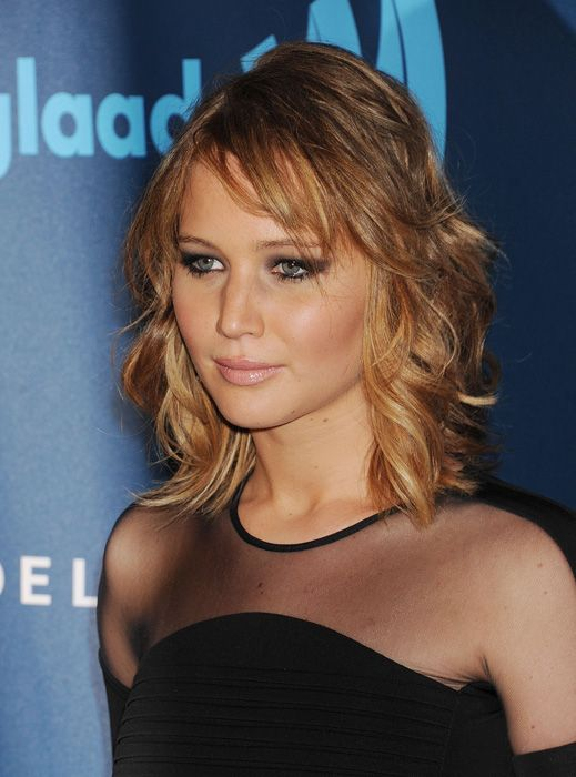 Jennifer Lawrence's new haircut and colour by Mark Townsend and Lorri Goddard