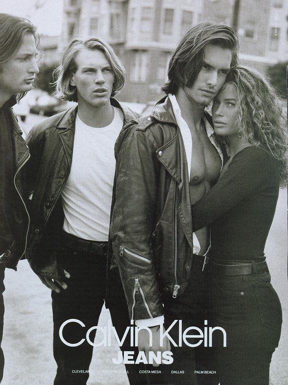 Marcus Schenkenberg 1991 Campaign   Sexy Calvin Klein Ads ...  Marcus Schenkenberg Calvin Klein Ad