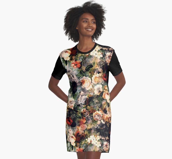 #women #fashion #roses #pattern http://www.rizapekerart.com/