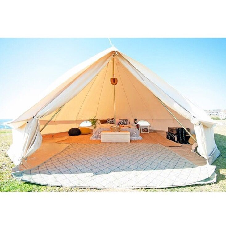 Stay in bed all weekend. Pic via Breathe Belle Tents | armadillo-co.  sc 1 st  Pinterest & 599 best Bell Tents images on Pinterest | Tent camping Tents and ...