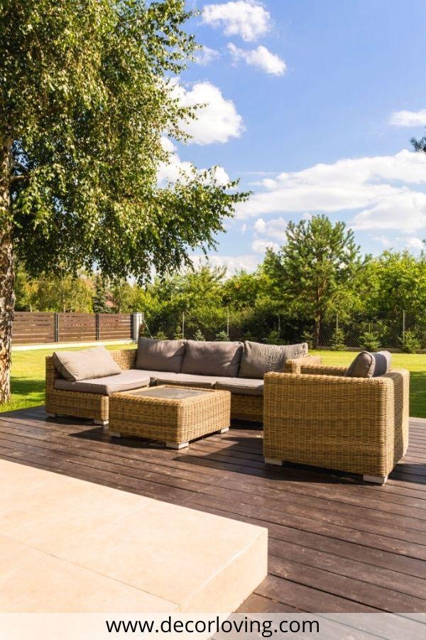 Cool Patio Wood Furniture Ideas For Vacations Backyard Deck Backyard Custom Backyard