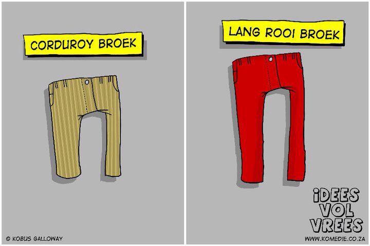 Corduroy broek