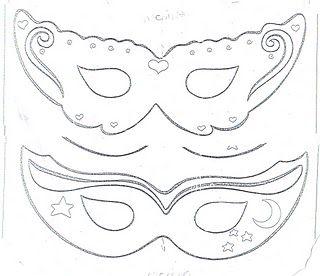 50 mejores imágenes de Plantillas Mascaras en Pinterest